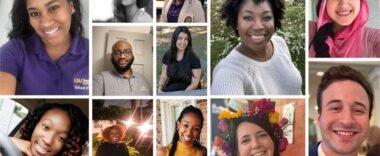 Headshots of various students
