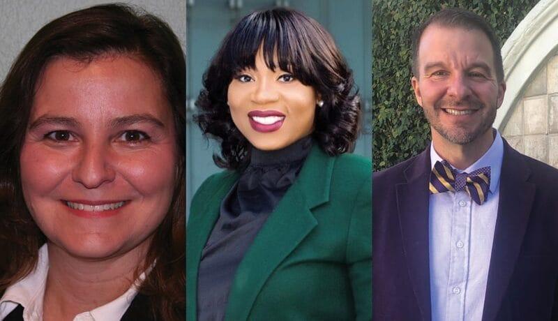 Jennifer Manning, Benita Chatmon and Todd Tartavoulle